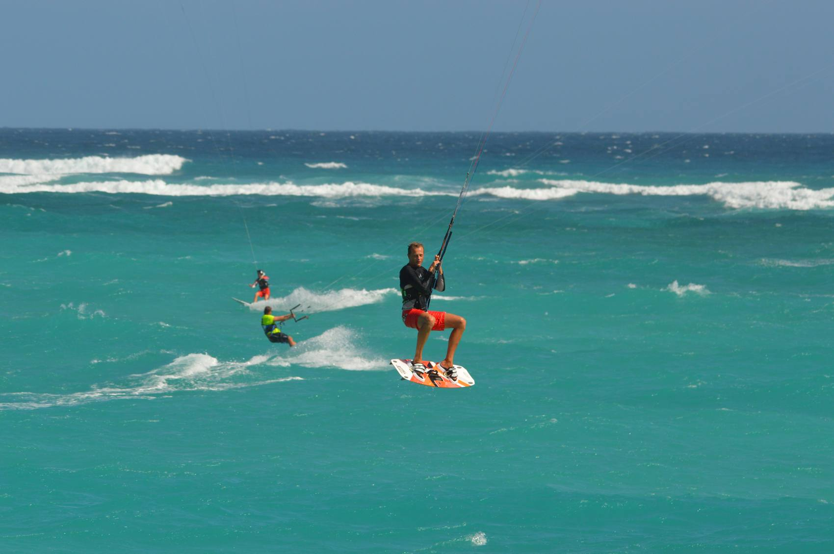 Kitesurfing in Silver Sands - Barbados
