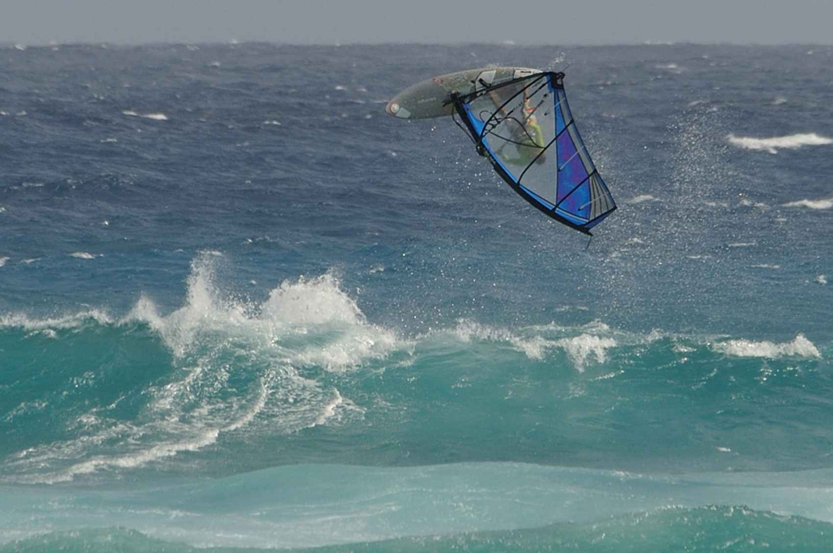 Windsurfing at Silver Sands