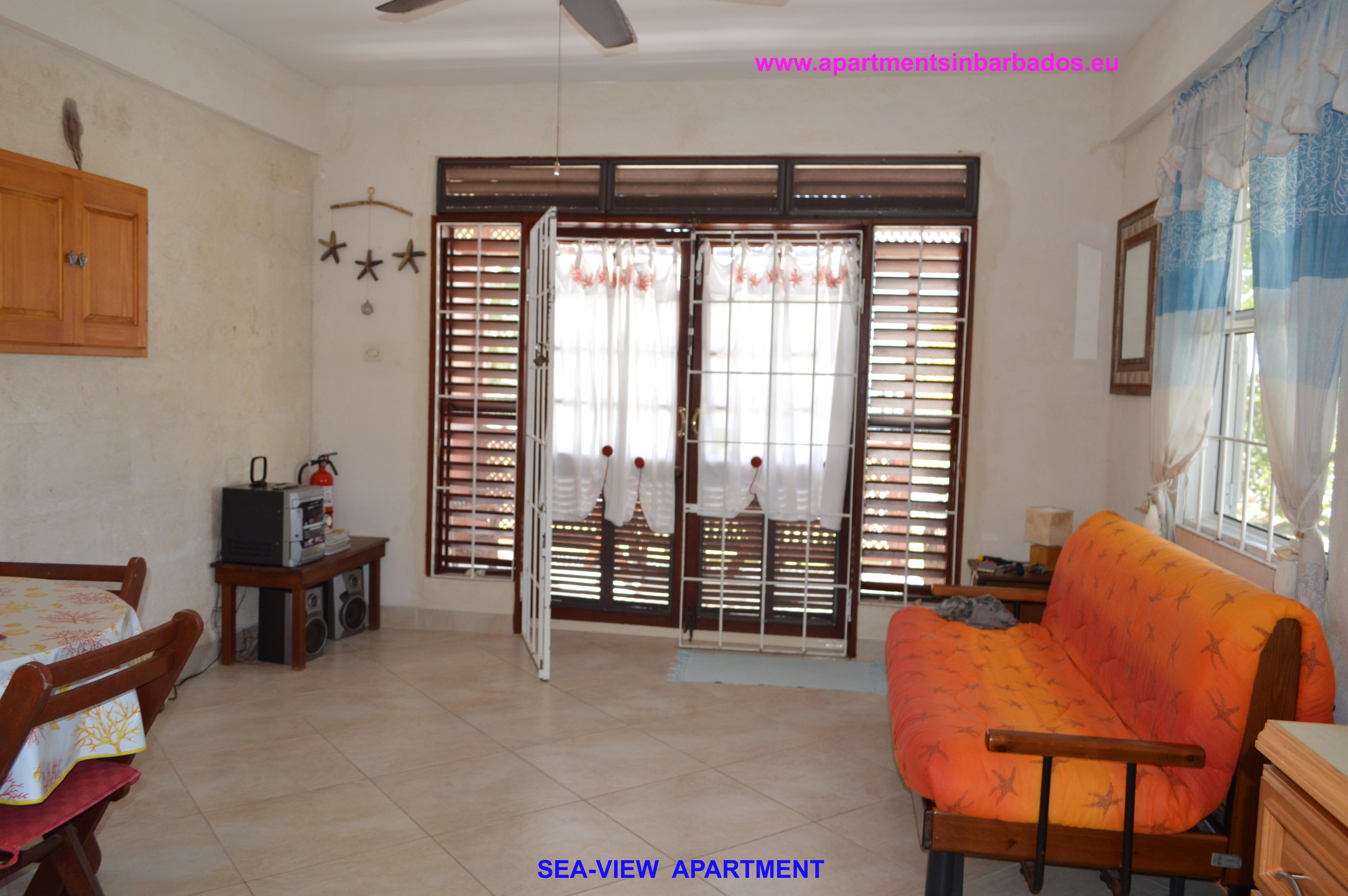 Sea-view Apartment - Living area