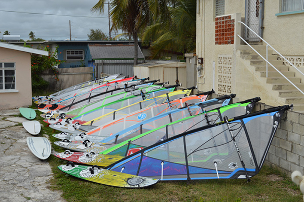 Windsurf rental in Barbados